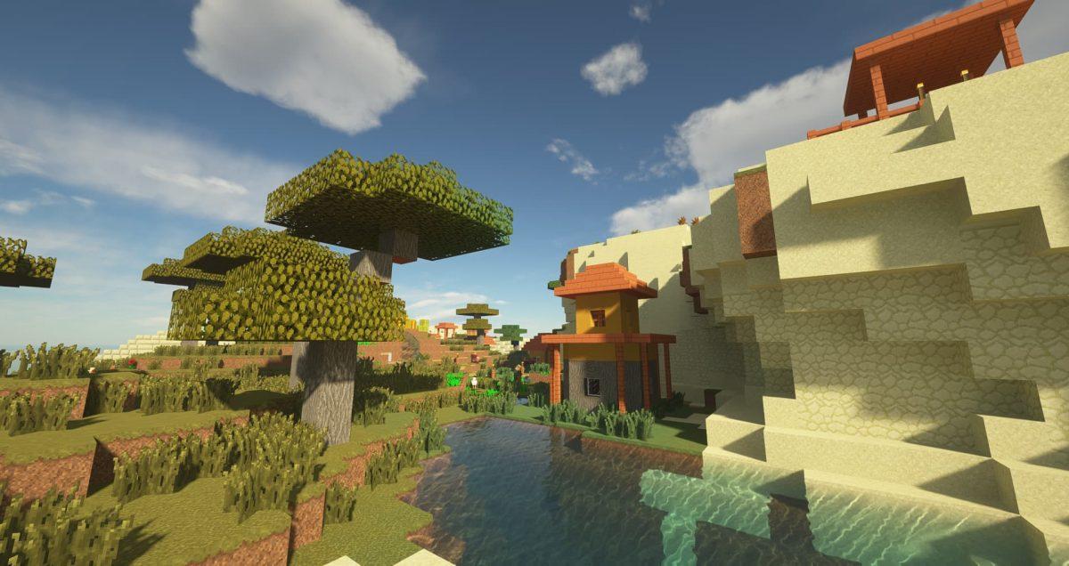 Immersion - Pack de textures : un village dans la savane