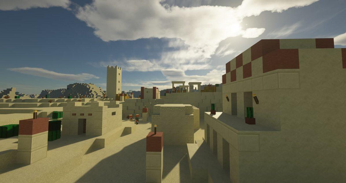 Immersion - Pack de textures : village dans le désert