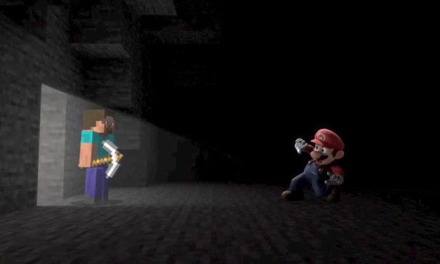Minecraft débarque sur Super Smash Bros. Ultimate