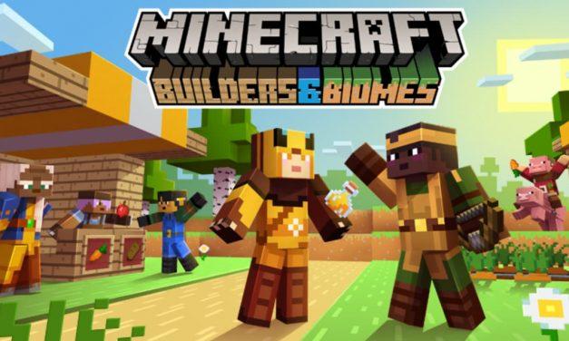 Minecraft – Builders & Biomes – Farmer's Market Extension