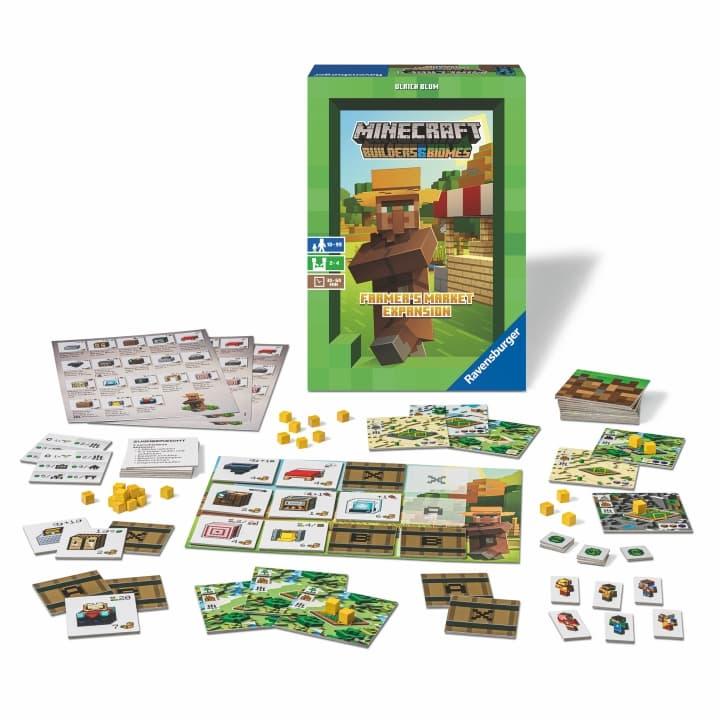 Boite du jeu Minecraft Builders & Biomes : Farmer's Market