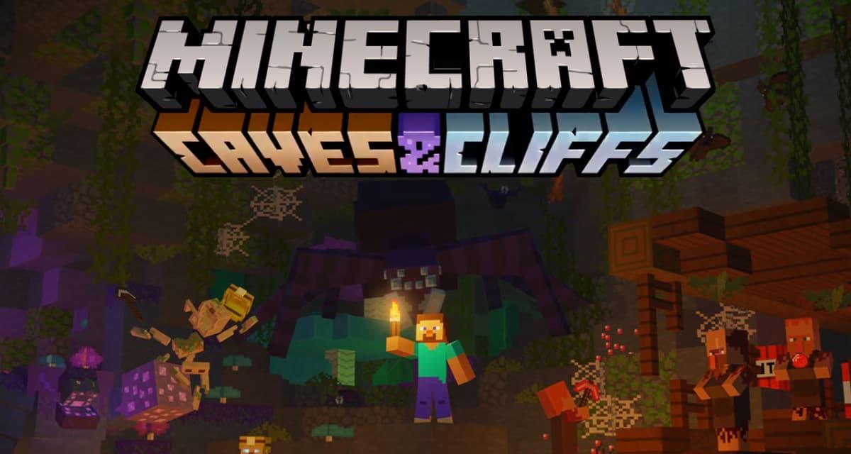 La mise à jour 1.17 de Minecraft sera celle des caves, des grottes et des souterrains découvrez les nouveautés