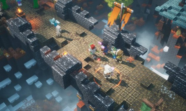 Minecraft Dungeons : cross play et nouveau DLC