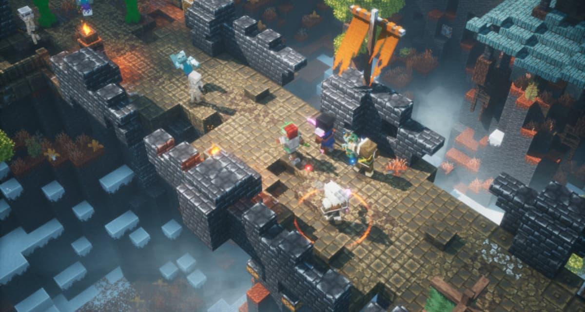 Minecraft Dungeons : cross play et nouveau DLC