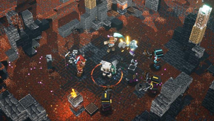 Le DLC Howling Peaks de Minecraft Dungeons