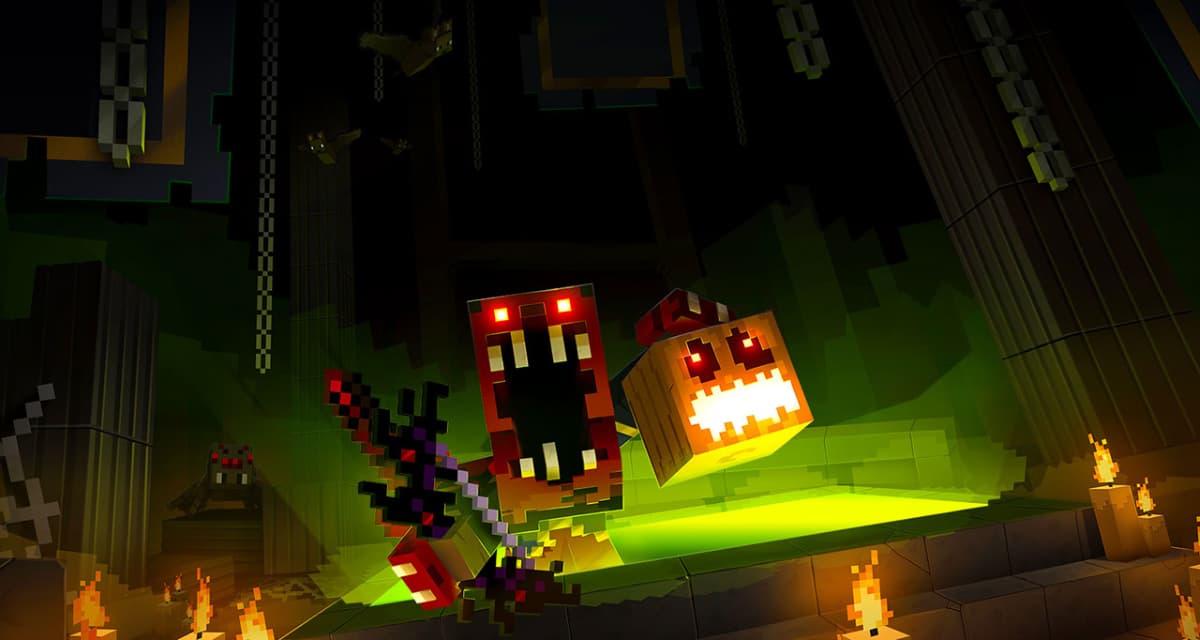Minecraft Dungeons : un évènement effrayant d'automne pour Halloween