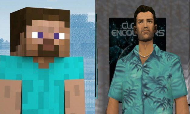 Le skin par défaut de Minecraft (Steve) serait-il basé sur Tommy Vercetti, un personnage de GTA ?