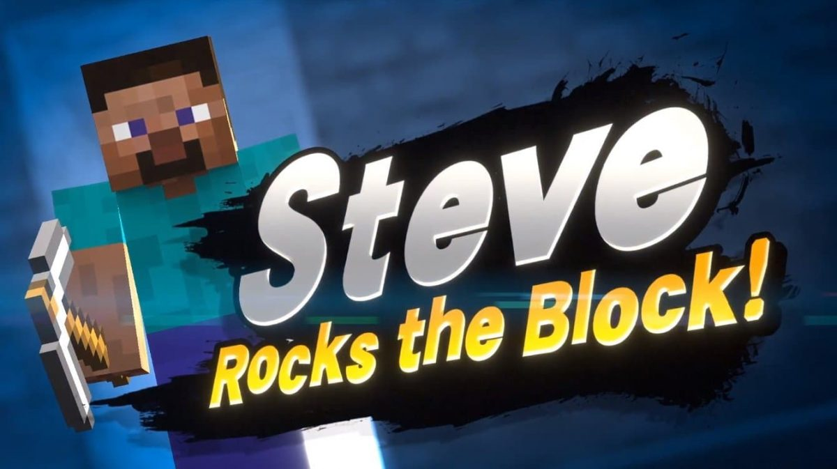 Steve dans Super Smash Bros. Ultimate
