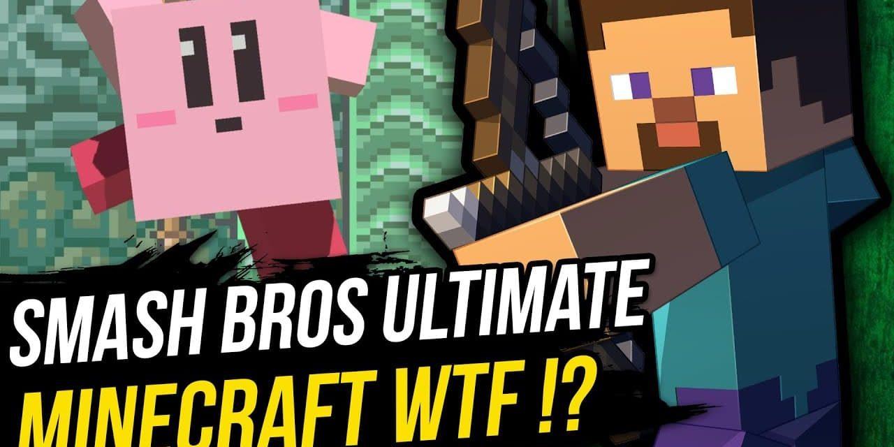 Comment utiliser les personnages de Minecraft dans SUPER SMASH BROS Ultimate ?
