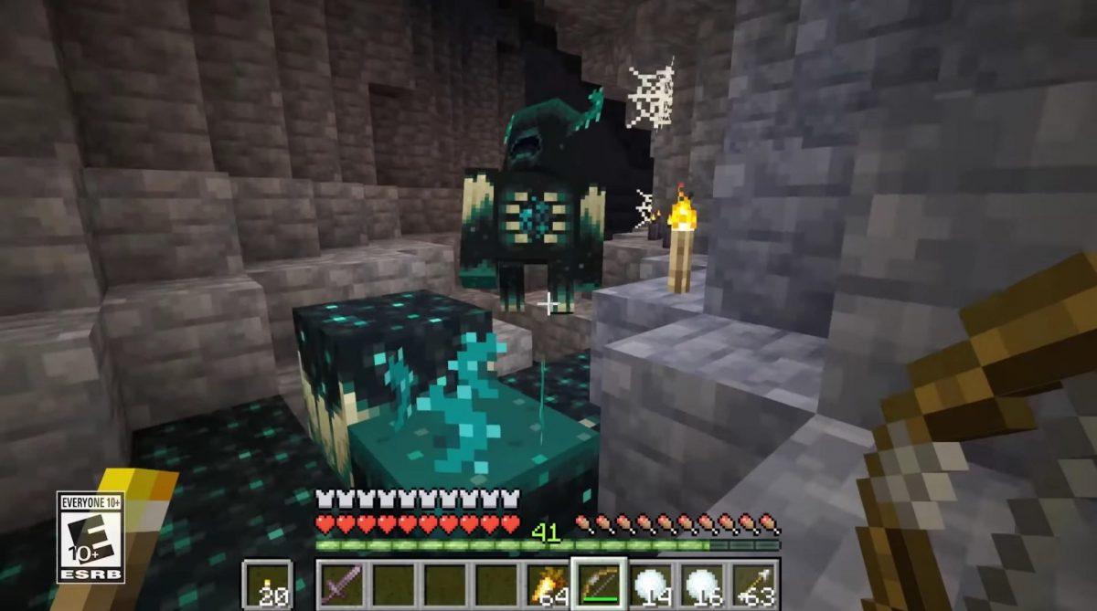 Les Wardens dans Minecraft