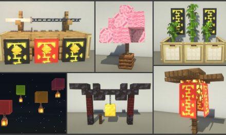 15 astuces de build / construction Japonais dans Minecraft