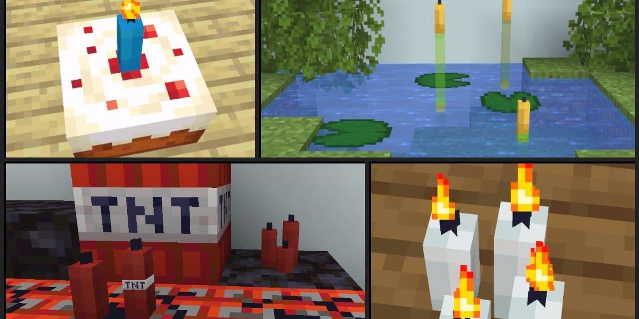 10 astuces d'utilisation des bougies pour vos constructions dans Minecraft