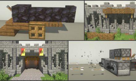 25 astuces de build / décoration de château dans Minecraft