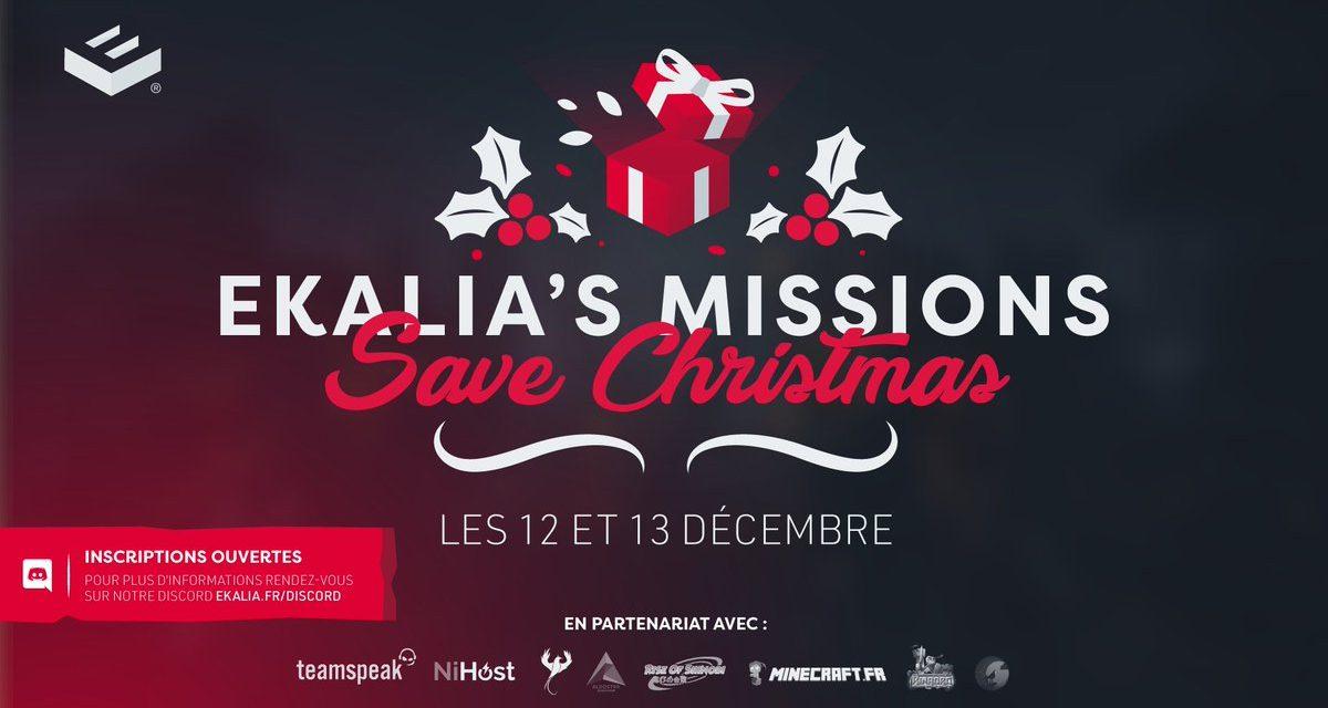 Ekalia's Missions : Save Christmas – Inscrivez-vous !