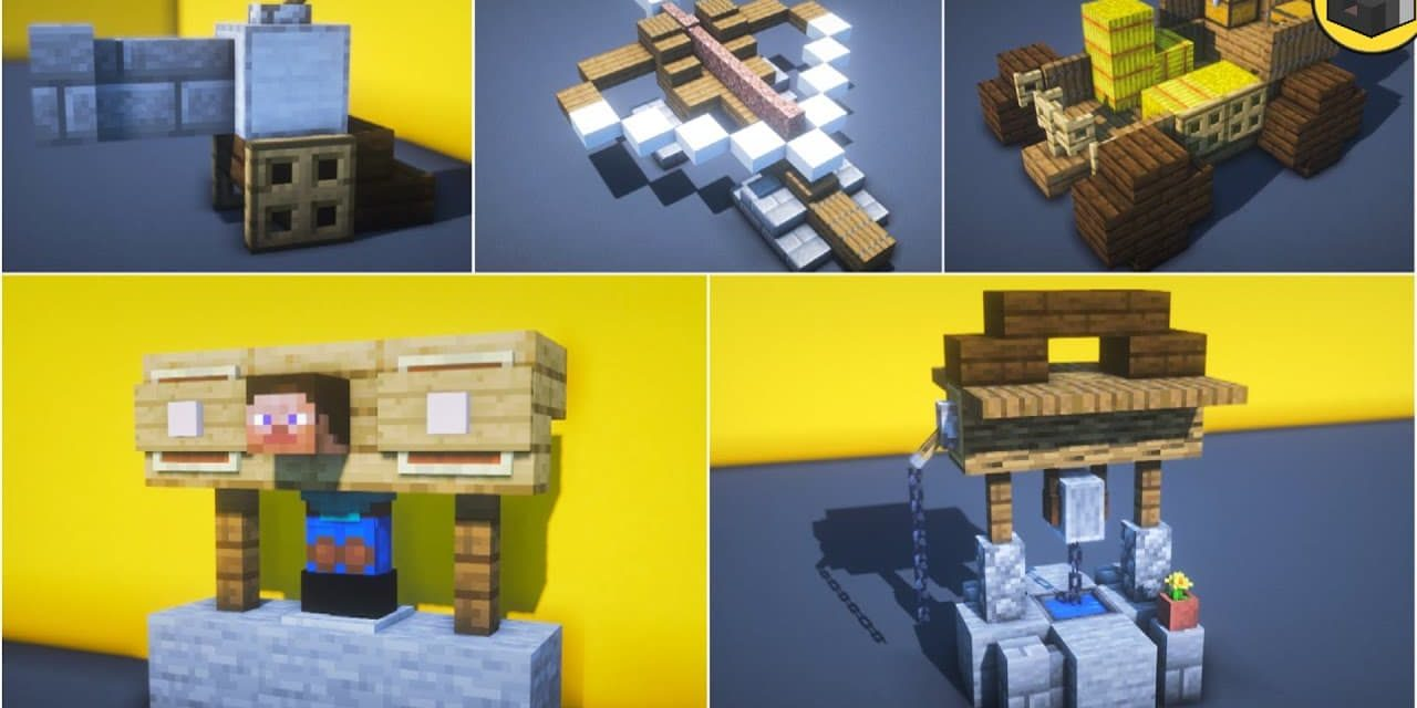 15 astuces de build / construction de type médiéval dans Minecraft
