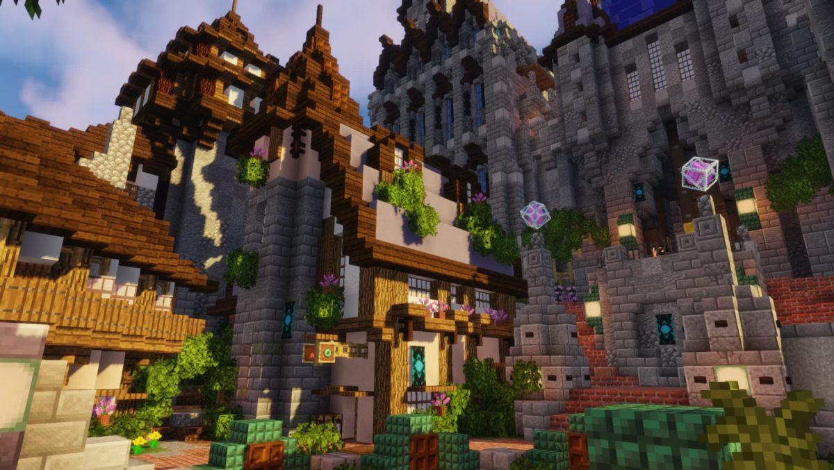 BwW Texturepack : une maison dans Minecraft