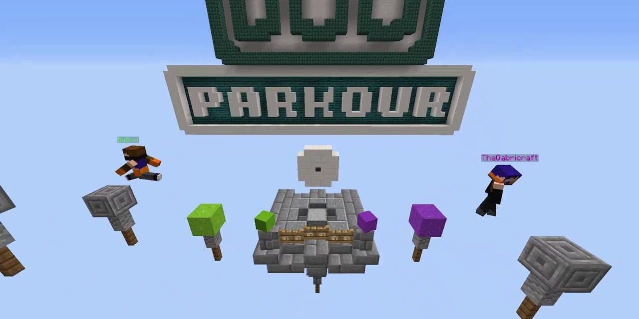 Duo Parkour – Map Minecraft – 1.16