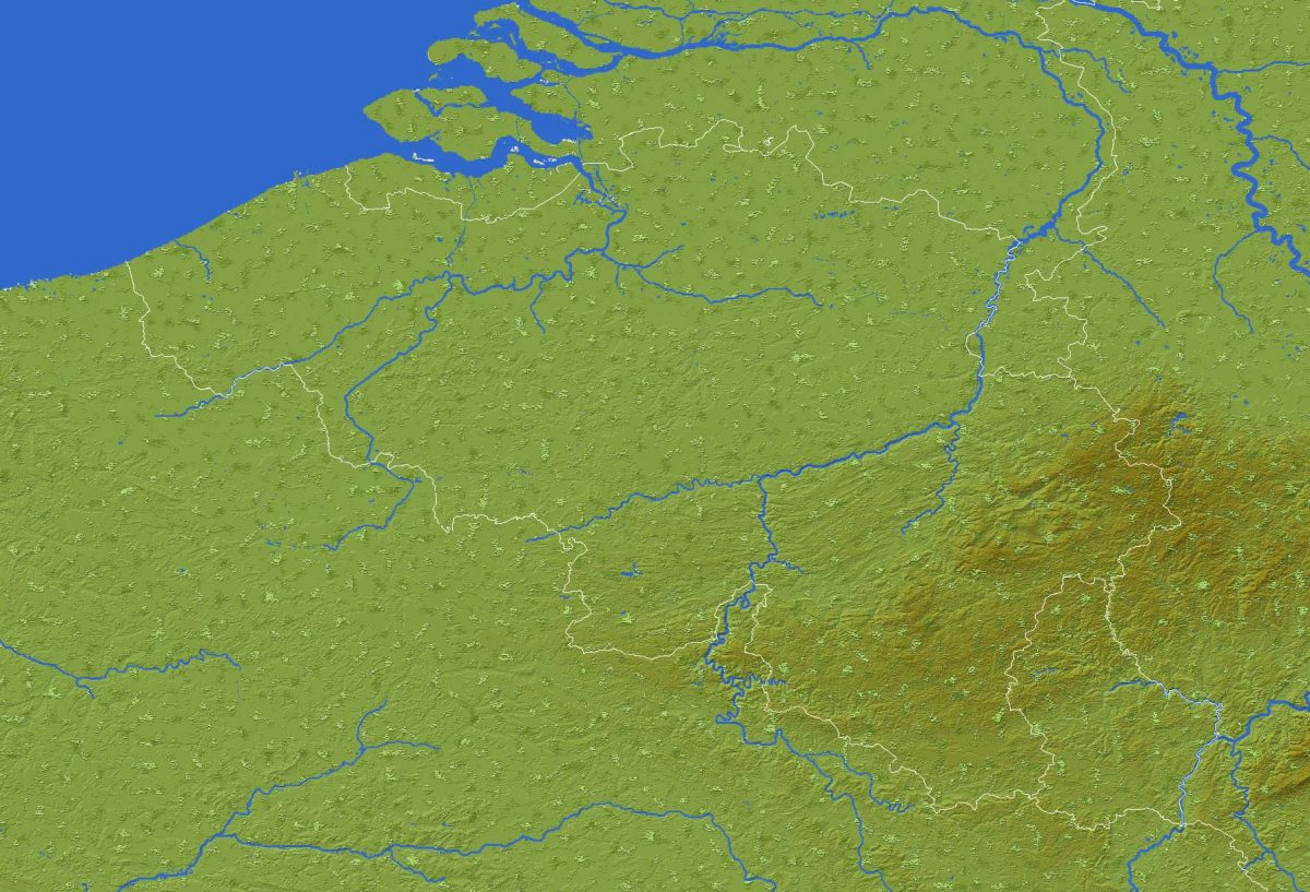 La Belgique reproduite dans une map Minecraft