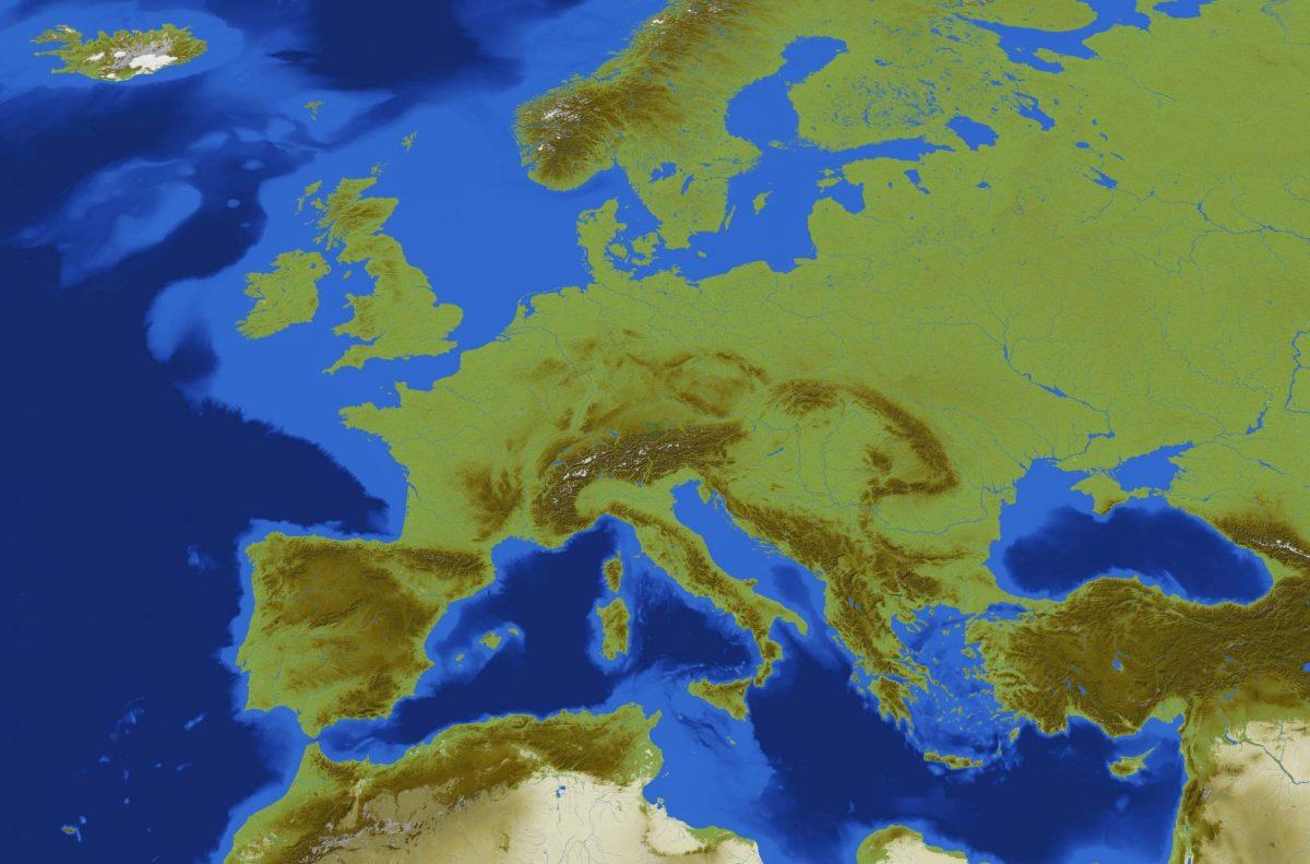 Toute l'Europe reproduite dans une map Minecraft