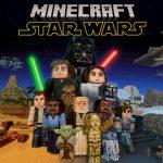 La trilogie Star Wars et The Mandalorian (avec baby Yoda) dans Minecraft