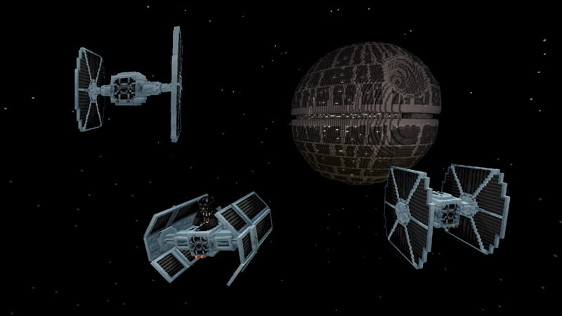 DCL Minecraft Star Wars : chasseur TIE