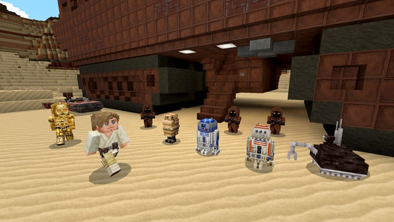 DCL Minecraft Star Wars : droid