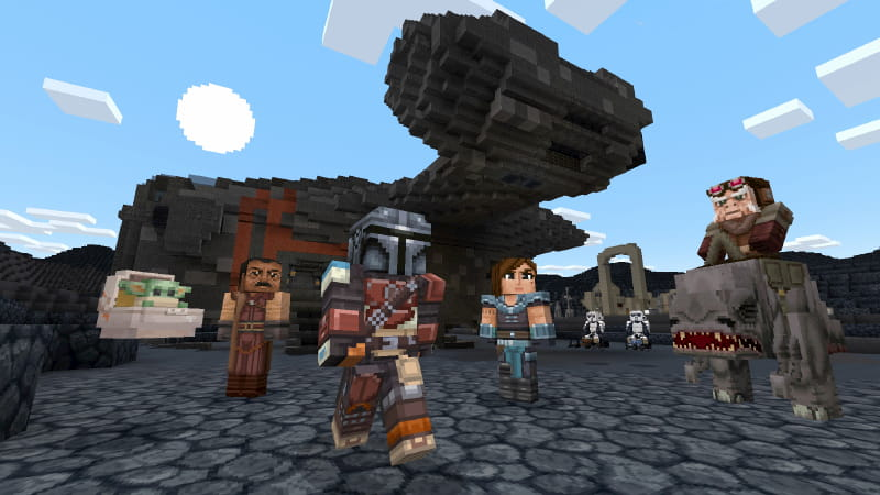 DCL Minecraft Star Wars :  The Mandalorian