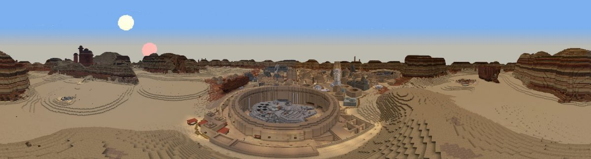 DCL Minecraft Star Wars :  panorama