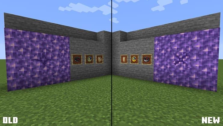 Nouvelles textures dans la snapshot 20w48a de Minecraft