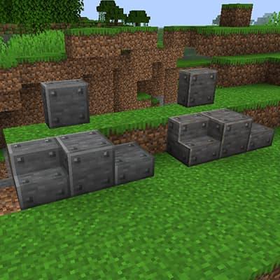 Plaques de fer
