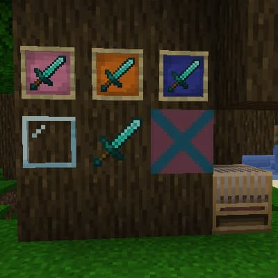 Variantes de l'item frame