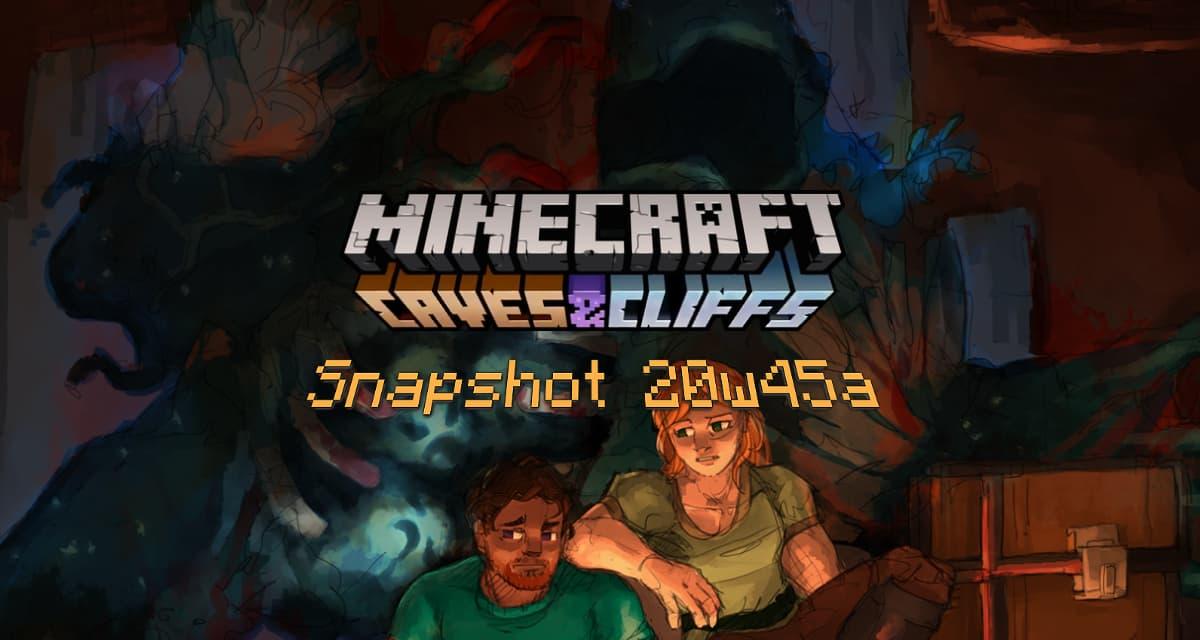 Snapshot 20w45a – Minecraft 1.17 : testez les nouveautés de la mise à jour Caves and Cliffs