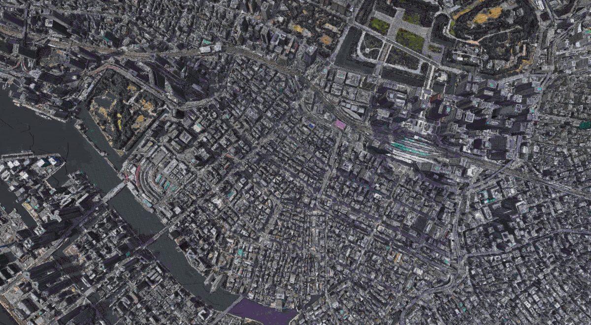 Tokyo, Japan dans Minecraft