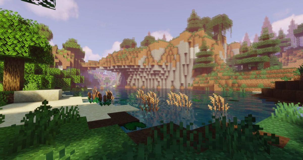 Modpack Valhelsia 3 : une rivière