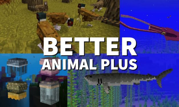 [Mod] Better Animals Plus – 1.12.2 → 1.16.4