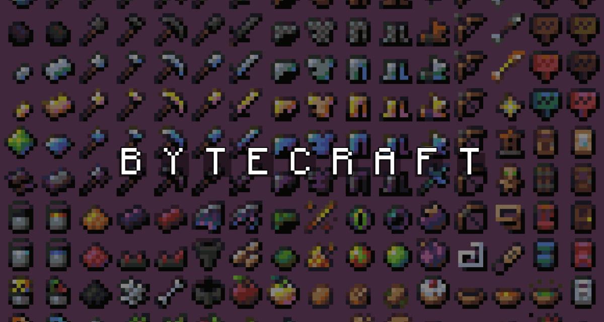 Bytecraft – Pack de Textures –  1.13 → 1.17