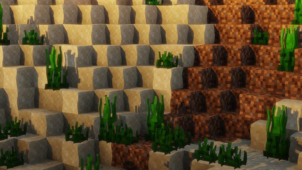 Pack de texture F8thful : des blocs sous l'eau