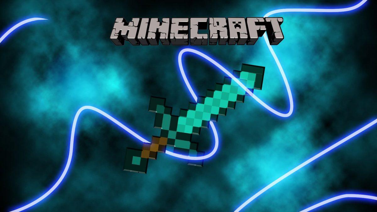 Fond d'écran Minecraft : épée