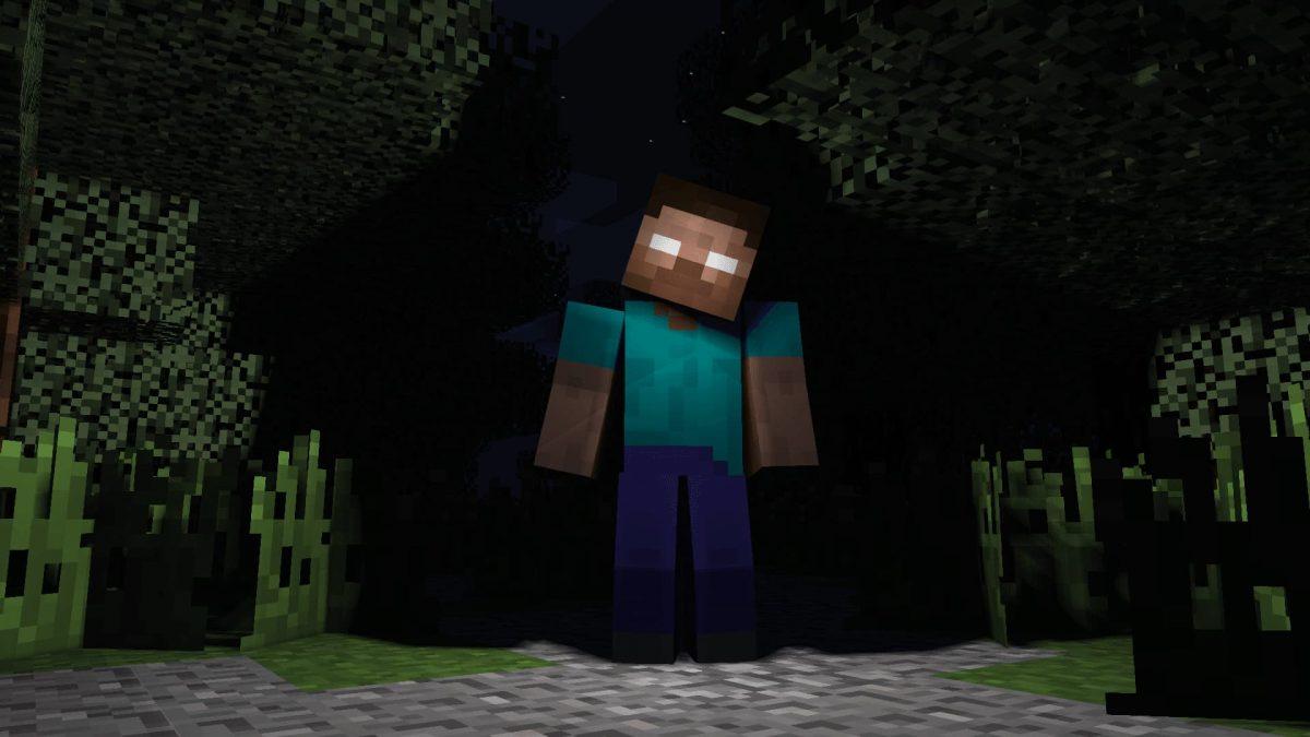 Fond d'écran Minecraft : herobrine