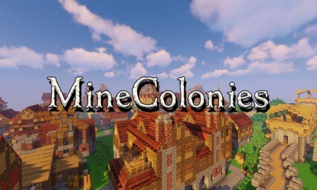 Minecolonies – Mod – 1.10.2 → 1.16.5