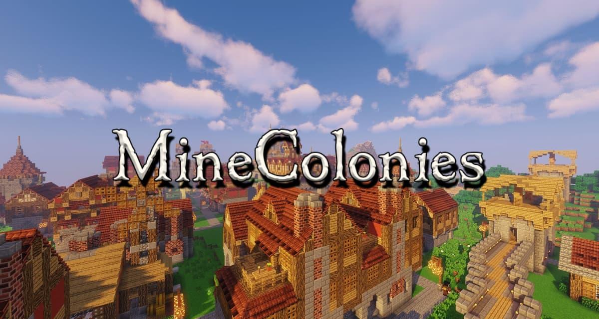 Minecolonies – Mod – 1.10.2 → 1.17.1