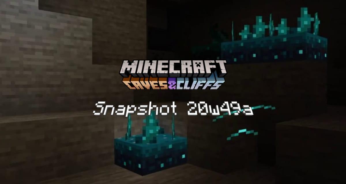 Snapshot 20w49a – Minecraft 1.17 : la redstone en wifi avec le sculk sensor !