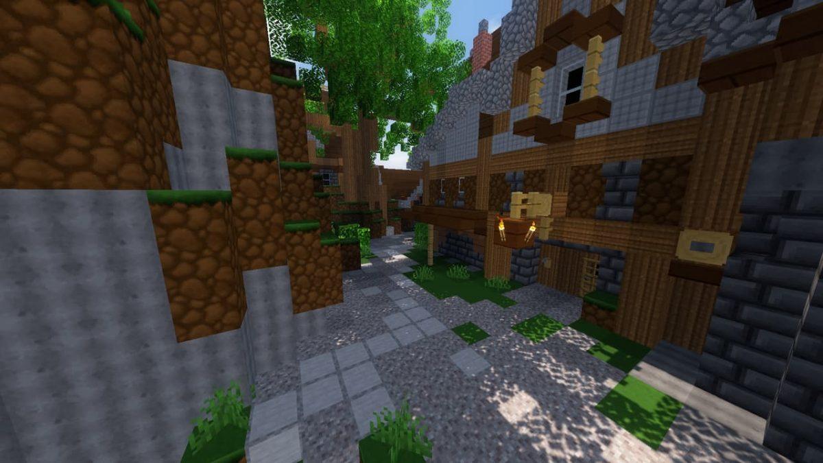 Yure's Textures : un village