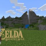 La map de Zelda Breath Of The Wild (Hyrule) dans Minecraft