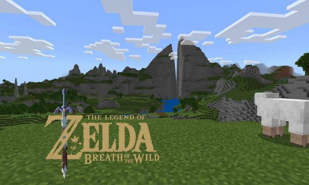 La map de Zelda Breath Of The Wild (Hyrule) dans Minecraft