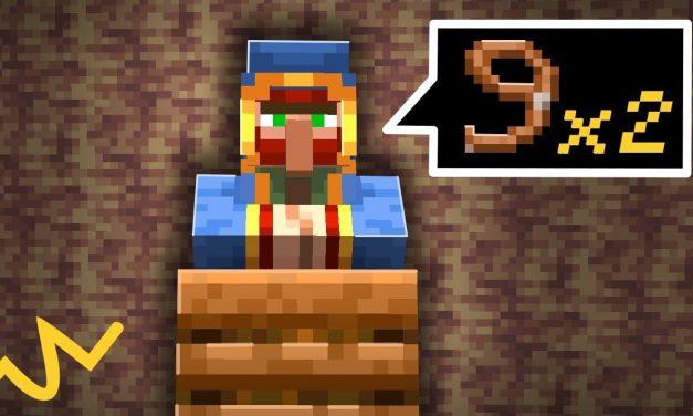 6 propositions pour rendre des choses inutiles enfin utiles dans Minecraft