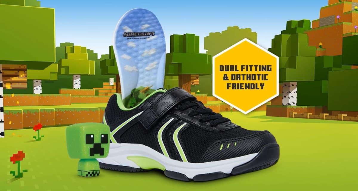 La marque Clarks dévoile des chaussures Minecraft