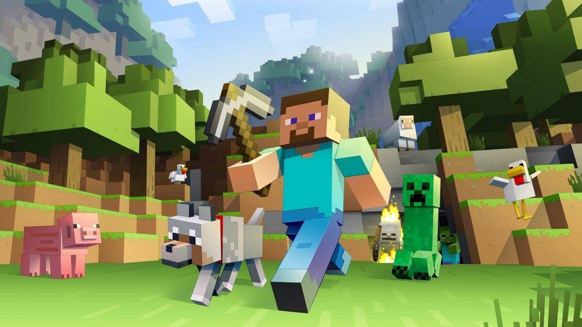Fond d'écran Minecraft classique original