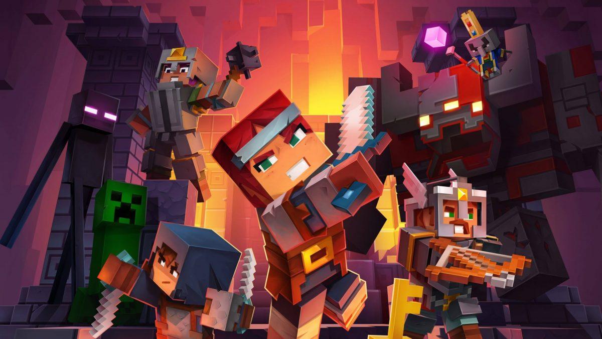 Fond d'écran Minecraft Dungeons