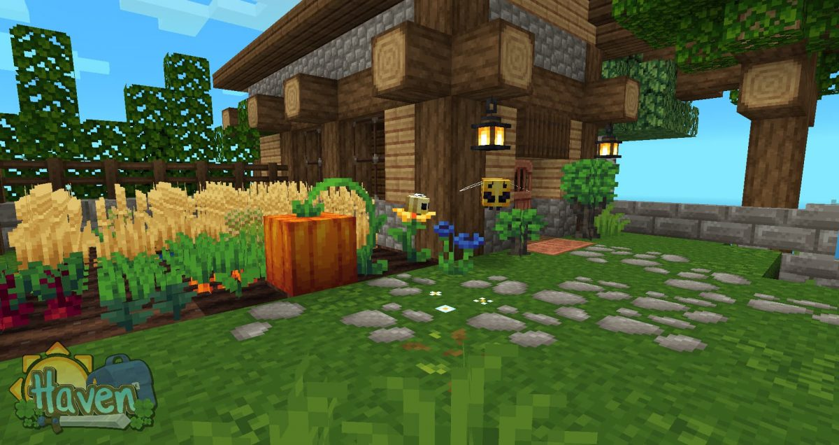 Haven texture pack : abeilles